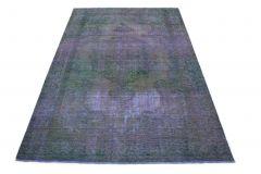 Carpetido Design Vintage-Teppich Lila in 310x200