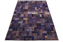 Patchwork Teppich Lila in 290x200cm