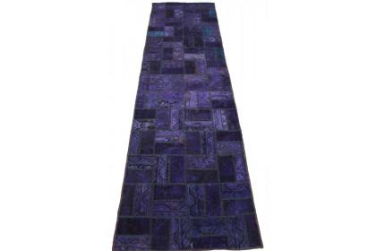 Patchwork Teppich Lila in 280x80cm 1001-2053