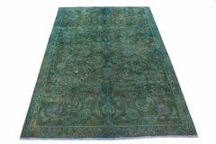 Carpetido Design Vintage-Teppich Grün in 240x160