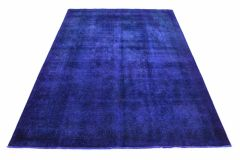 Carpetido Design Vintage-Teppich Lila in 330x230