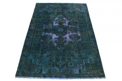 Carpetido Design Vintage-Teppich Petrol in 200x140