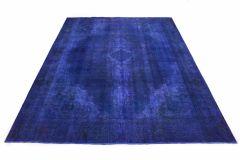 Carpetido Design Vintage-Teppich Lila in 380x290