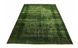 Carpetido Design Vintage-Teppich Grün in 340x240