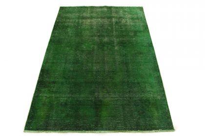 Carpetido Design Vintage-Teppich Grün in 210x150