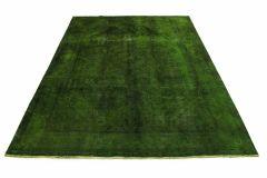 Carpetido Design Vintage-Teppich Grün in 290x200