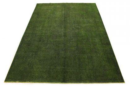 Carpetido Design Vintage-Teppich Grün in 390x290