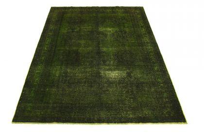 Carpetido Design Vintage-Teppich Grün in 280x200