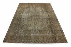 Carpetido Design Vintage-Teppich Beige Sand in 340x240
