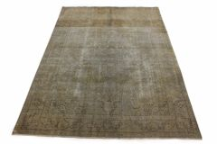 Carpetido Design Vintage-Teppich Beige Sand in 290x200