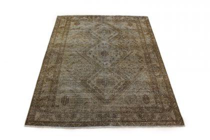 Carpetido Design Vintage-Teppich Beige Sand in 200x160