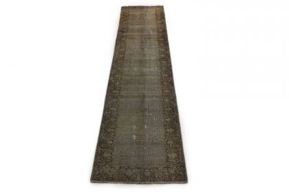 Carpetido Design Vintage-Teppich Beige Sand in 370x80
