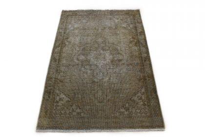 Carpetido Design Vintage-Teppich Beige Sand in 140x100