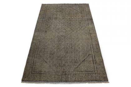 Carpetido Design Vintage-Teppich Beige Sand in 180x110