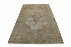 Carpetido Design Vintage-Teppich Beige Sand in 380x230