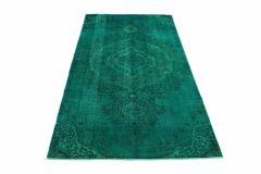 Carpetido Design Vintage-Teppich Türkis Grün in 300x170