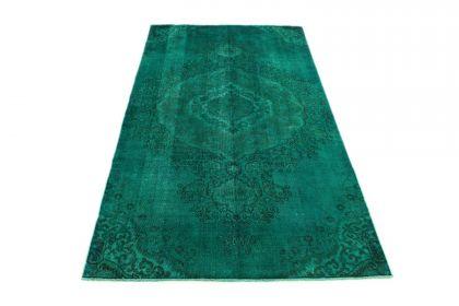 Carpetido Design Vintage Rug Turquoise Green in 300x170