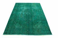 Carpetido Design Vintage-Teppich Türkis Grün in 290x200