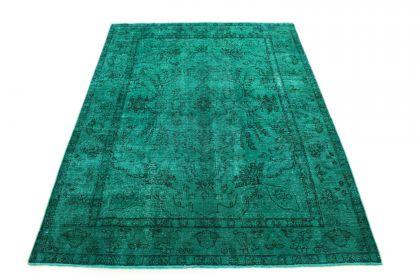 Carpetido Design Vintage-Teppich Türkis Grün in 290x210