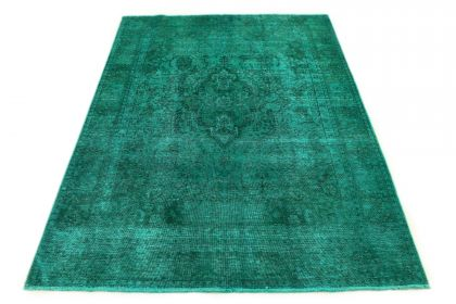 Carpetido Design Vintage Rug Turquoise Green in 290x190