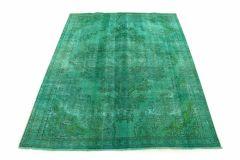 Carpetido Design Vintage-Teppich Türkis Grün in 260x210
