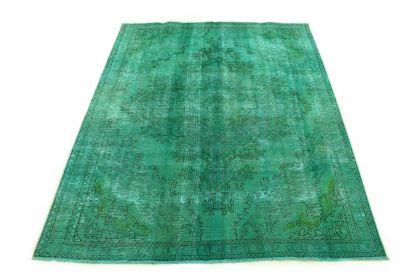 Carpetido Design Vintage Rug Turquoise Green in 260x210