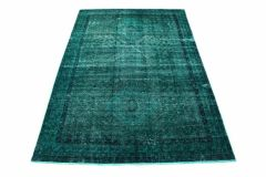 Carpetido Design Vintage-Teppich Türkis Grün in 300x200