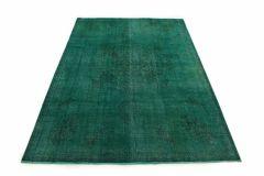 Carpetido Design Vintage-Teppich Türkis Grün in 330x230