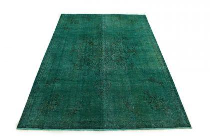 Carpetido Design Vintage Rug Turquoise Green in 330x230