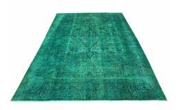 Carpetido Design Vintage-Teppich Türkis Grün in 510x330