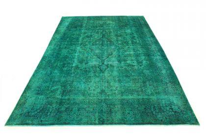 Carpetido Design Vintage Rug Turquoise Green in 510x330
