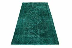 Carpetido Design Vintage-Teppich Türkis Grün in 200x120
