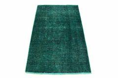 Carpetido Design Vintage-Teppich Türkis Grün in 140x90