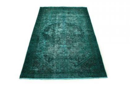 Carpetido Design Vintage Rug Turquoise Green in 200x130