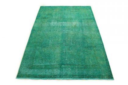 Carpetido Design Vintage Rug Turquoise Green in 220x150