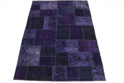 Patchwork Teppich Lila in 240x160cm 1001-2149
