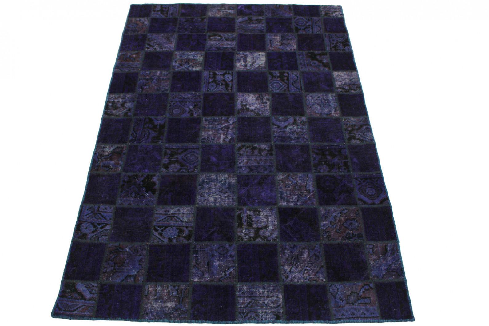 Patchwork Teppich Lila in 240x160cm