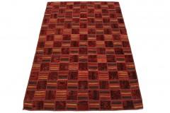 Patchwork Teppich Rot in 240x160cm