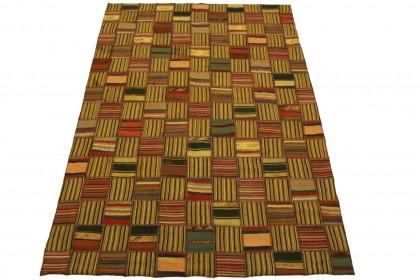 Kelim Patchwork Teppich in 240x160cm
