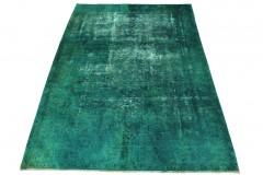 Vintage Teppich Türkis in 270x190cm