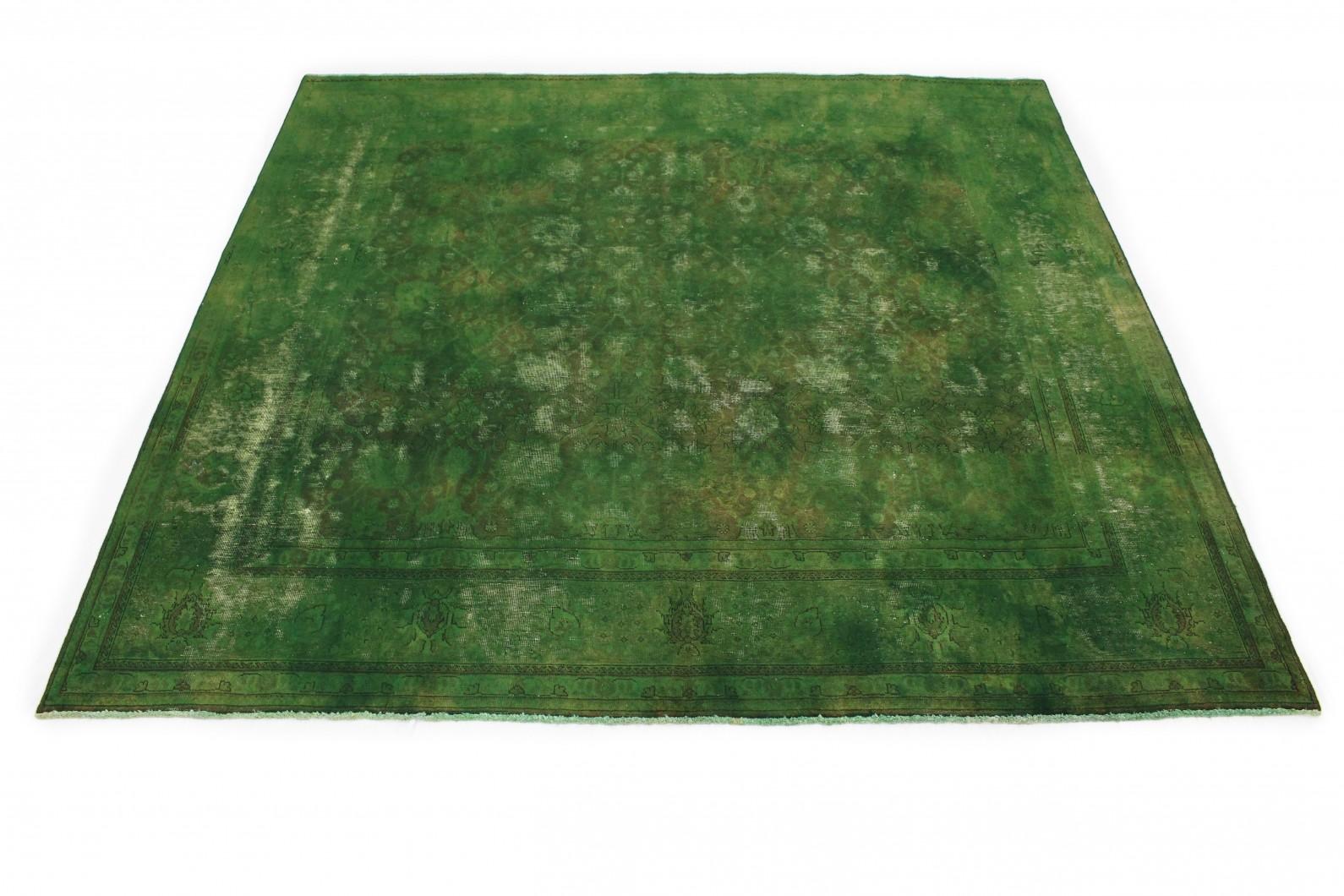 Vintage Teppich Grün in 290x300cm (1 / 4)