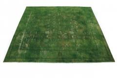 Vintage Teppich Grün in 290x300cm