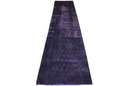 Vintage Teppich Lila in 390x90cm 1001-2456