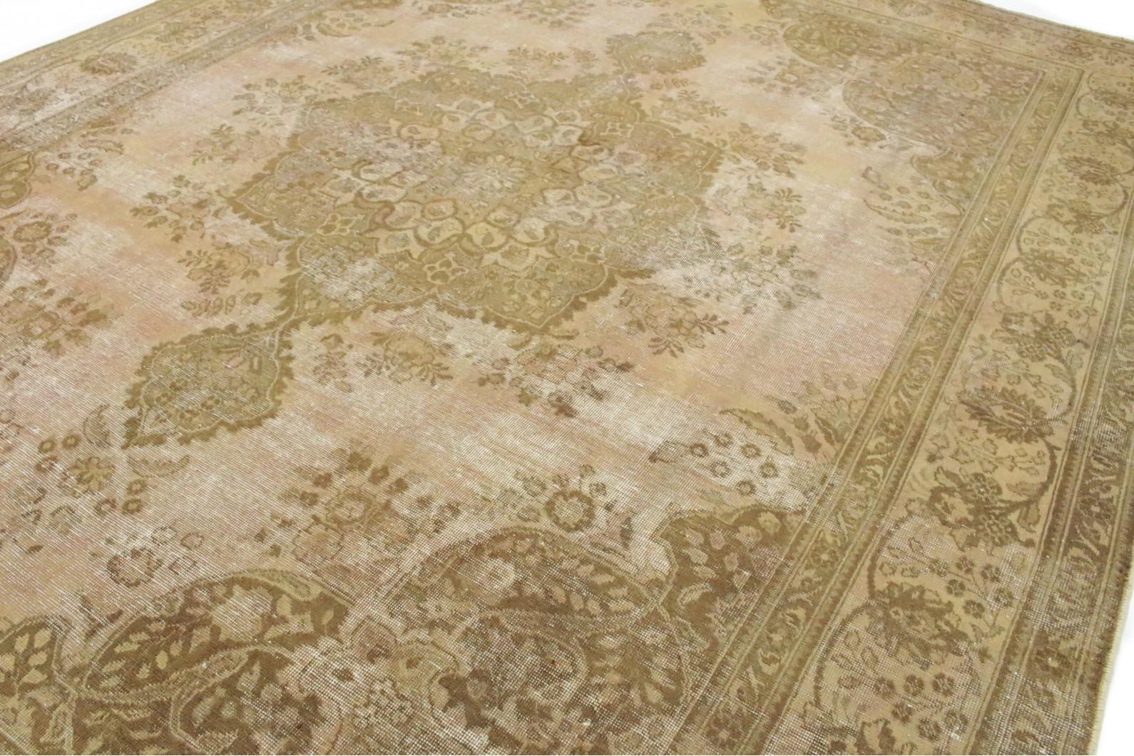 vintage teppich braun beige rosa in 390x300cm 1001 2467 bei kaufen. Black Bedroom Furniture Sets. Home Design Ideas