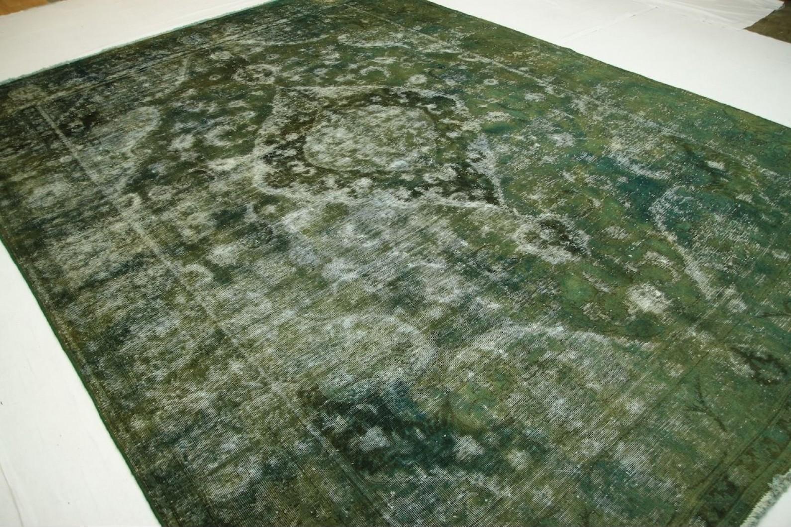 Teppich mintgrün  Vintage Teppich Grün Blau in 400x300cm (1001-2469) bei carpetido ...