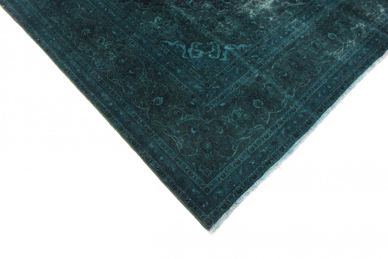 vintage teppich blau t rkis in 400x300cm 1001 2478 bei kaufen. Black Bedroom Furniture Sets. Home Design Ideas