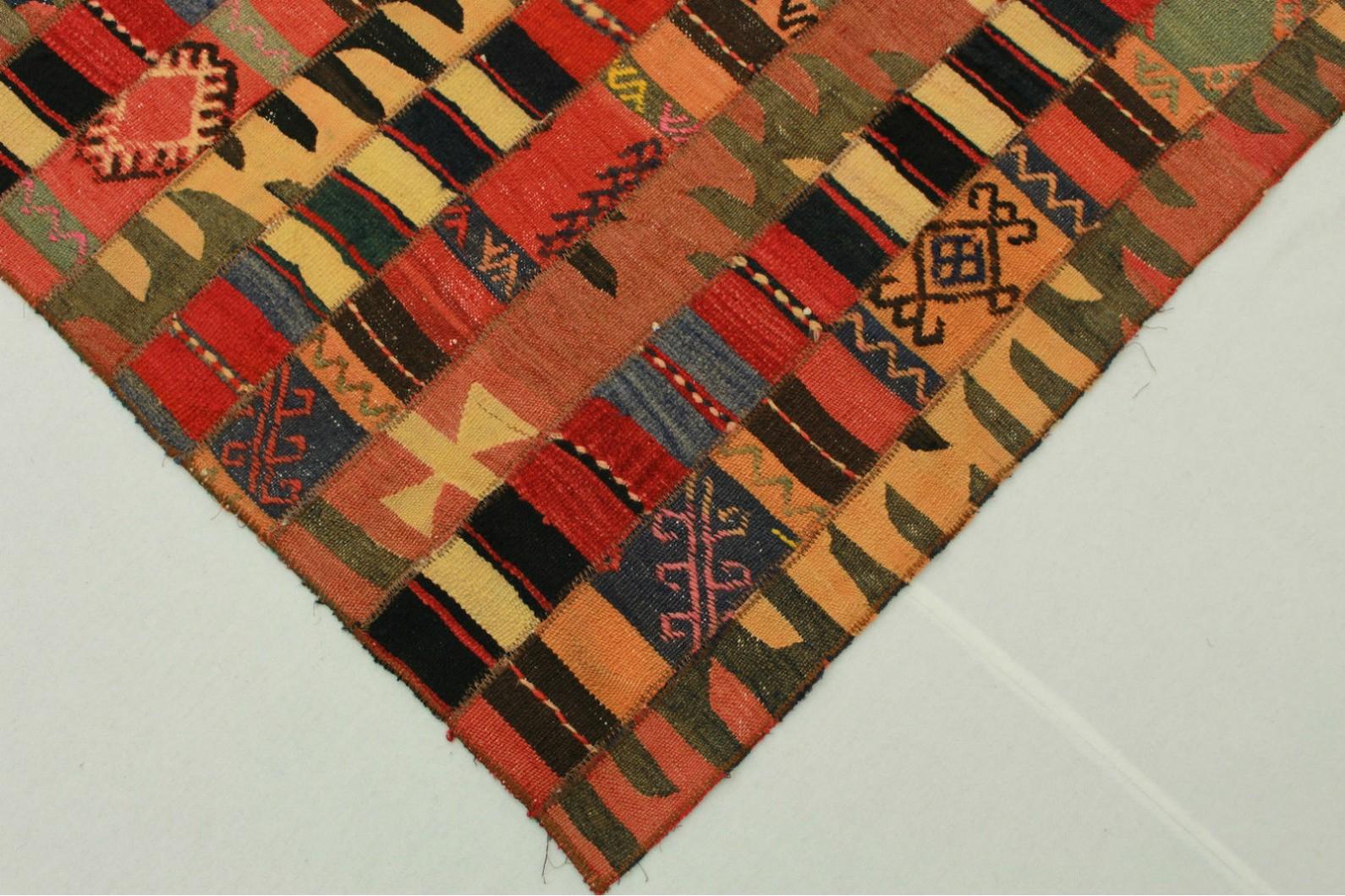 kelim patchwork teppich rot in 250x160cm 1001 2504 bei kaufen. Black Bedroom Furniture Sets. Home Design Ideas