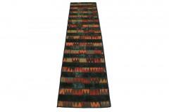 Patchwork Teppich Läufer in 310x80cm