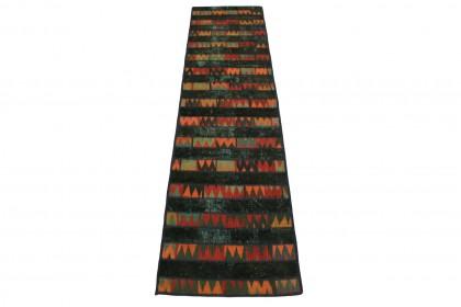 Patchwork Teppich in 310x80cm 1001-2606