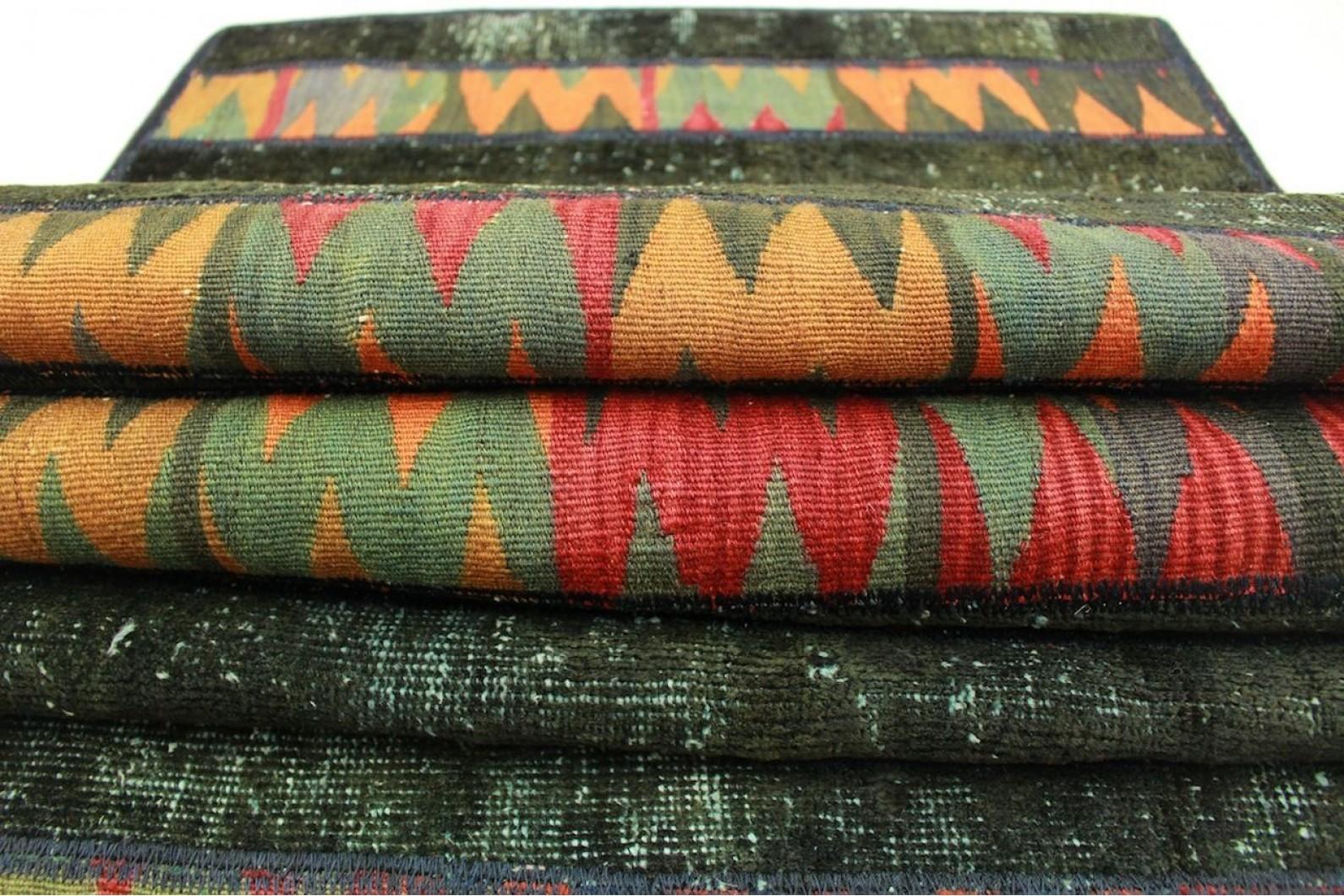 patchwork teppich in 310x80cm 1001 2606 bei kaufen. Black Bedroom Furniture Sets. Home Design Ideas